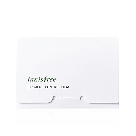 Innisfree clear oil control film 50 sheets with transparent background