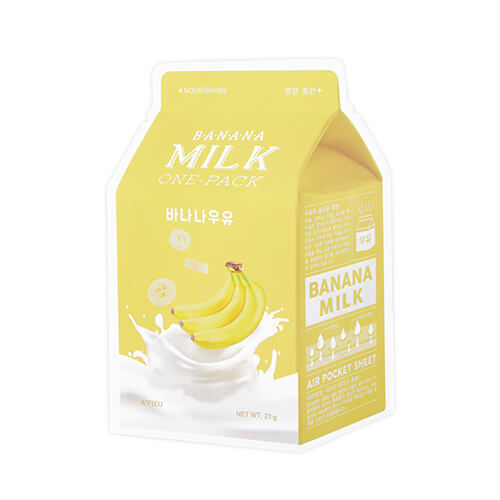 Apieu Banana Milk Sheet Mask