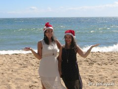 Melbourne - Sandringham Beach - Christmas in Summer