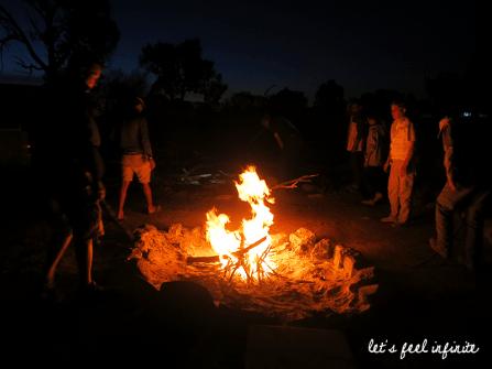 Red Center - Campfire
