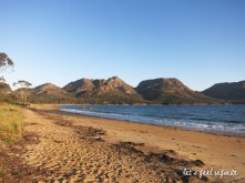 Tasmanie - Plage de la péninsule Freycinet