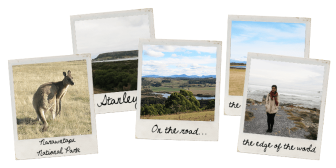 Polaroids Nord Ouest Tasmanie