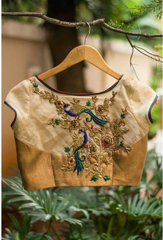 15 Fresh maggam work blouse designs of new season on New Get Design  id=72812