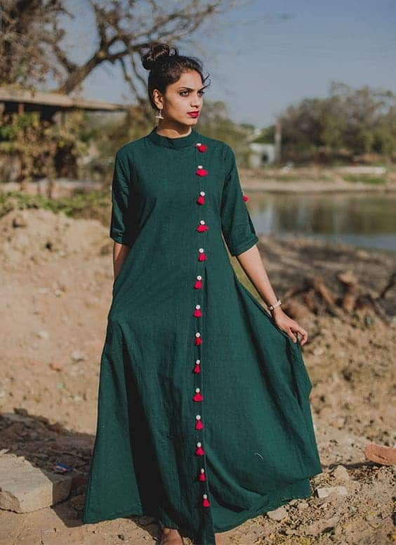 10 Stylish Kurti Neckline Designs to try in 2018: Let's ... on New Get Design  id=73533