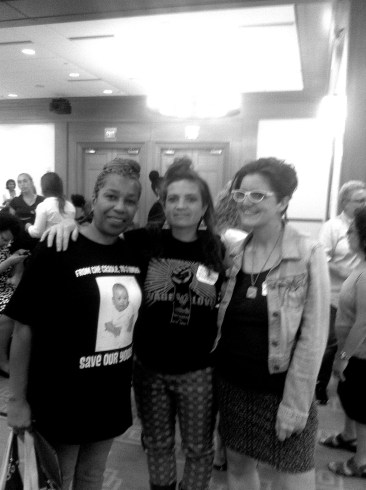 PA Represent! Patrica Vickers from HRC - Philly, etta & Ursula from Let's Get Free