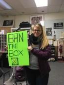 Sarah banning the box!