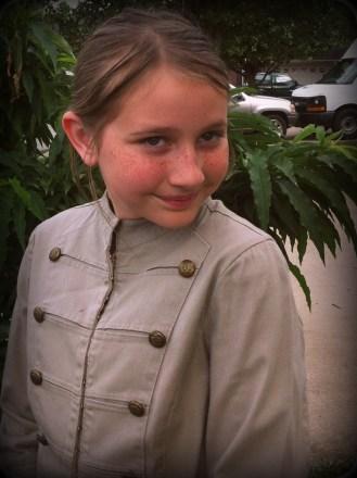 Anna as Clara Oswen