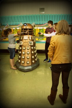 Group with Dalek Gana