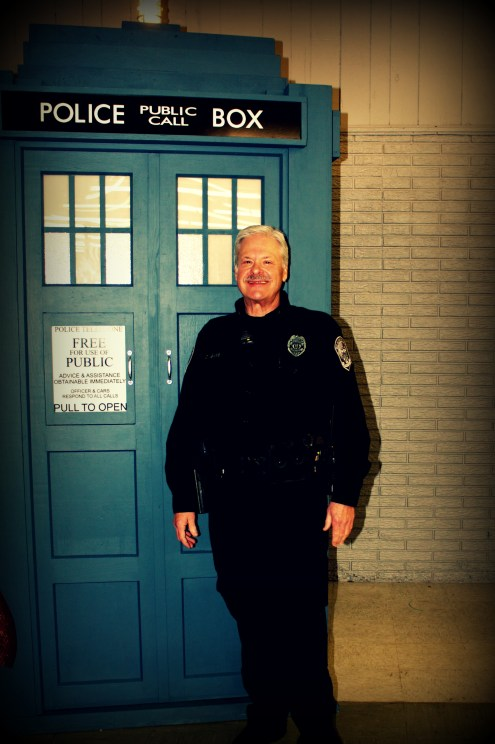 police with police box