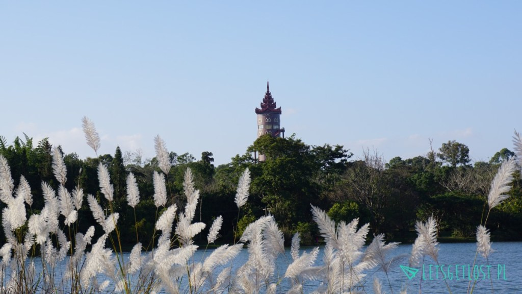Wieża widokowa w ogrodach Pyin Oo Lwin
