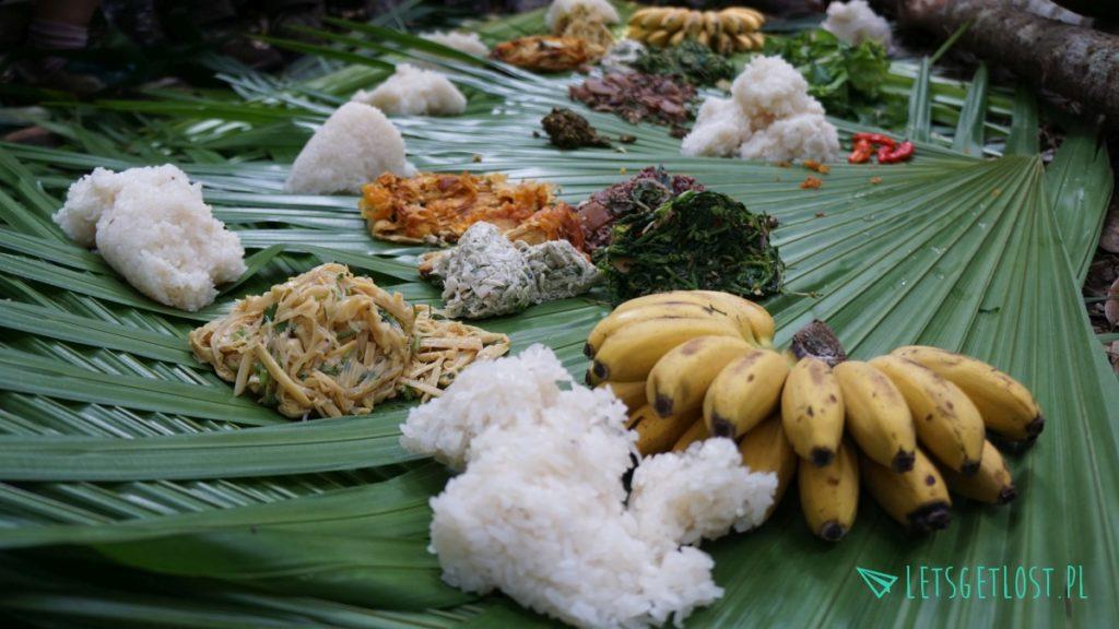 Tradycyjne laotańskie jedzenie