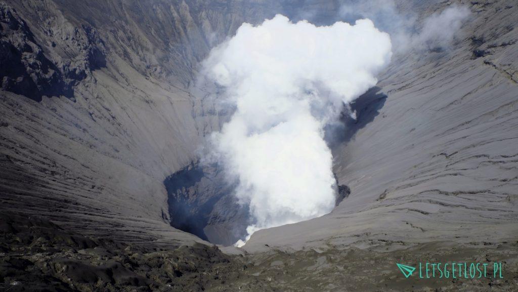 Krater wulkanu Bromo