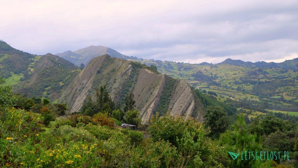 La Pena w drodze do Paramo de Oceta