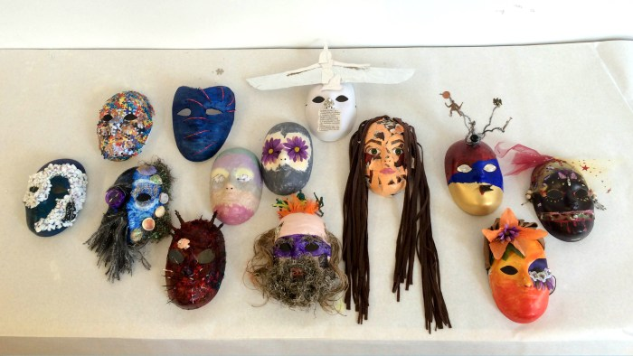 Mask-making workshop with VAF
