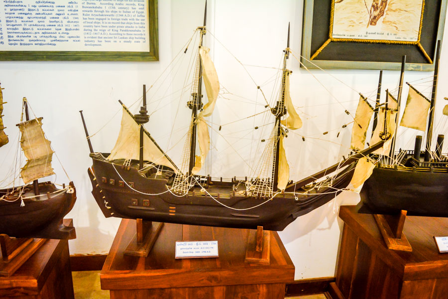 Maritime and Naval History Museum in Trincomalee