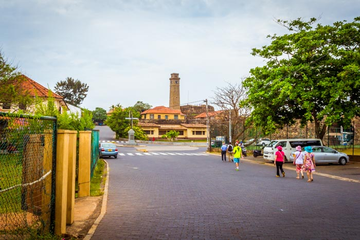 Galle Fort - Clock Tower