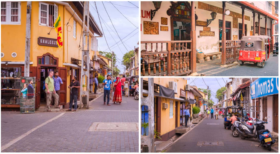 Galle Fort Shops and Streets