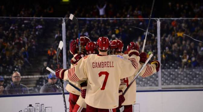 Three Pioneers Capture NCHC Player of the Week Honors