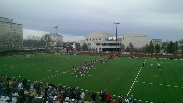 Denver Overcomes Slow Start to Rout Sacred Heart 18-7