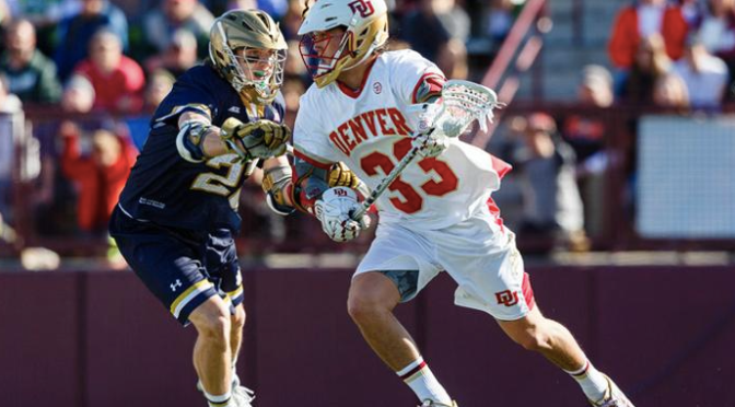 Denver and Notre Dame to Renew High Intensity Rivalry Sunday