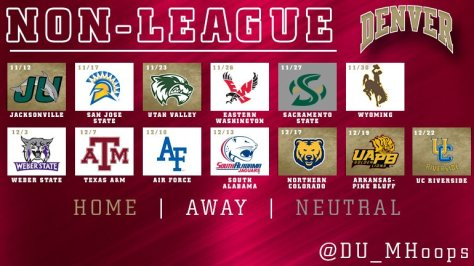 Courtesy DU Men's Hoops Twitter account