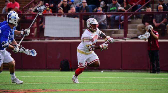 Trevor Baptiste spurs second half run as Pioneers run past Duke, 14-9