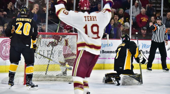 Denver overcomes slow first period to take Game 1 from Colorado College