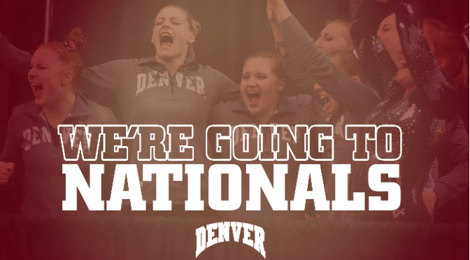 Denver Gymnastics Advances to Nationals