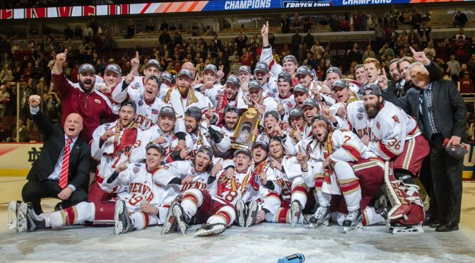 Lukosevicius and Jaillet shine as Denver wins eighth National Title