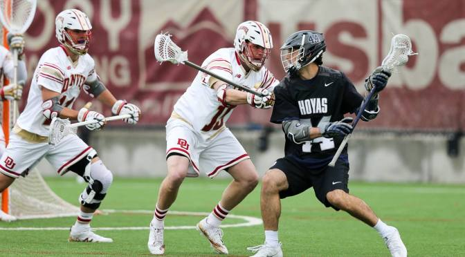 Christian Burgdorf, Denver's enigmatic captain, leading Pioneers back among lacrosse's elite