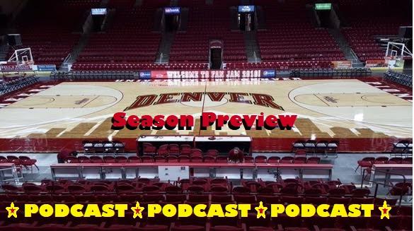 2017-2018 DU Men's Basketball Preview Podcast
