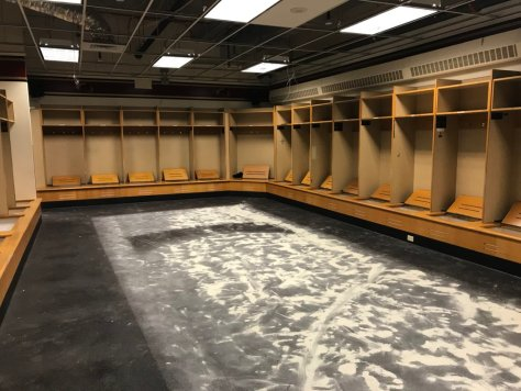 Hockey Miller Locker Room