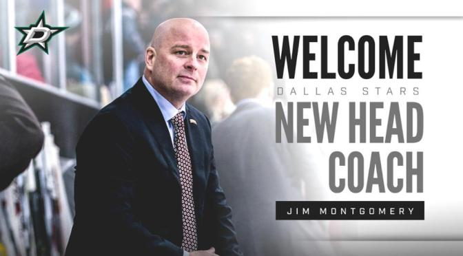 It's official: Jim Montgomery to the Dallas Stars
