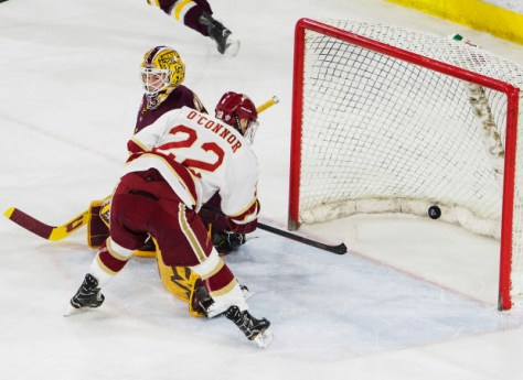 No. 1 Denver Pioneers hockey hosts No. 2 Minnesota Duluth at Magness Arena