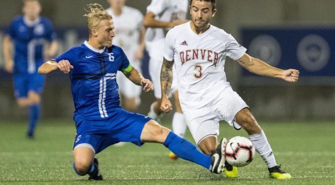 Denver Downs Creighton with Golden Goal, 1-0