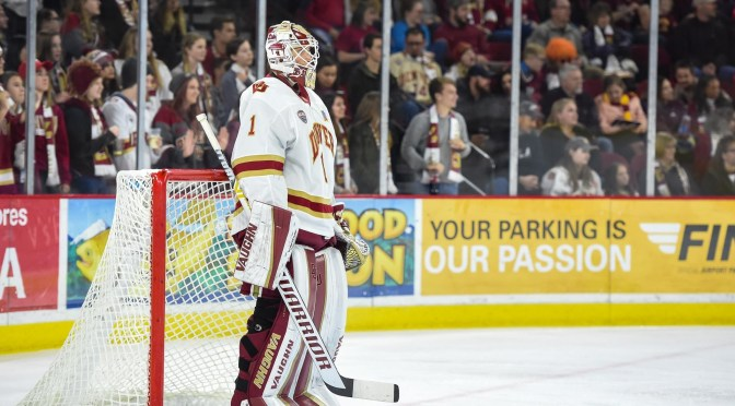 Pioneers, Cooley Shutout No. 1 Minnesota-Duluth 2-0