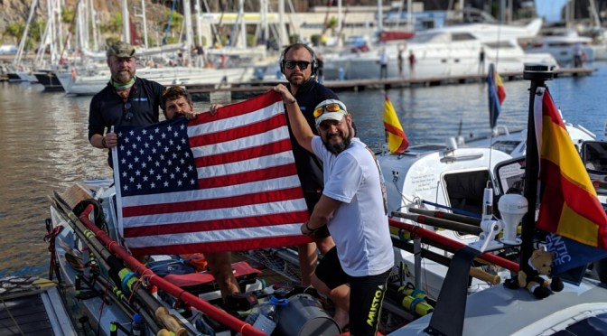 DU-Affiliated Veterans begin 3,000-mile ocean row