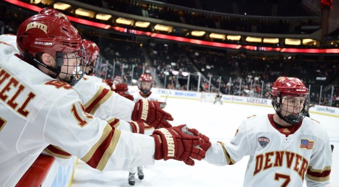 Pioneers exact revenge on Tigers for lost Gold Pan & take 3rd place at Frozen Faceoff