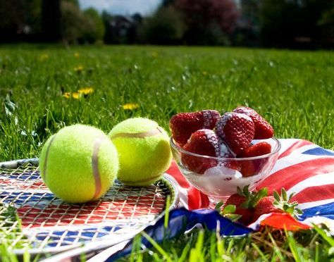 "Announcing ""The Wimbledon Party"" to support women's tennis"