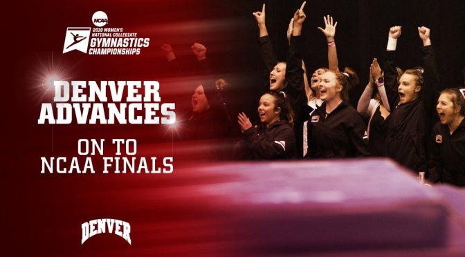 DU Gymnastics Makes History, Advances to NCAA Final Four