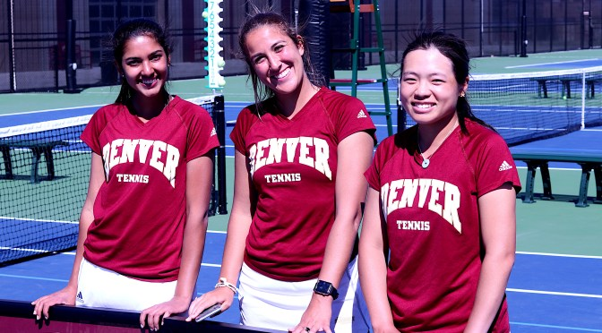 #Bringtheracquet: DU women's tennis blasts South Dakota 7-0 on Senior Day