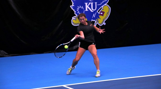 DU women's tennis falls 4-0 in NCAAs to Kansas