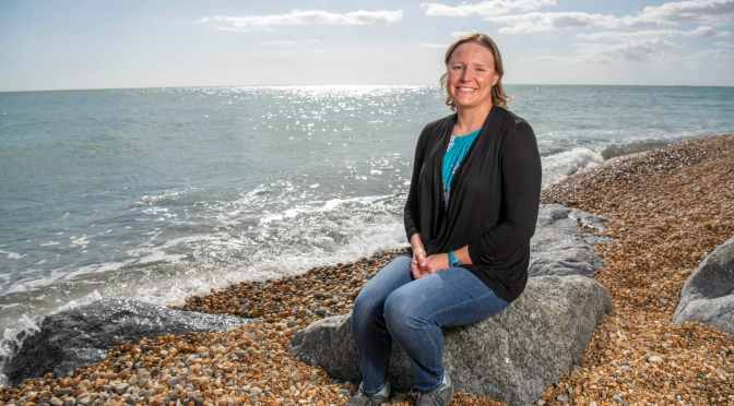 Denver Pioneer Sarah Thomas becomes first to swim four English Channel laps