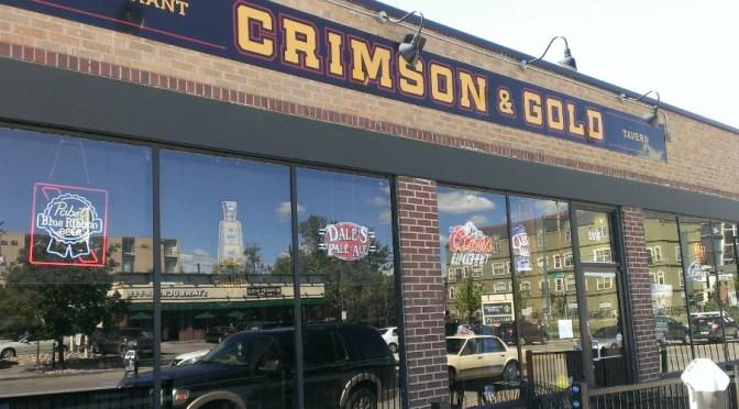 Crimson & Gold Tavern Liquor License Suspended