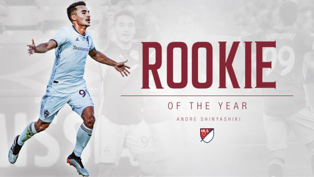 2019 DU Grad Andre Shinyashiki Wins MLS Rookie-of-the-Year with Colorado Rapids