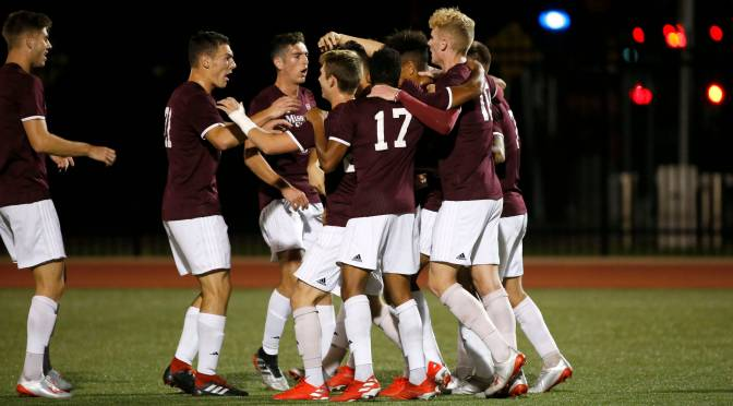 MSU Wears Down Denver in NCAA Playoff Win, 1-0