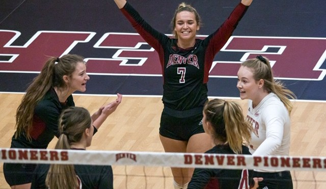 Surging Denver Volleyball Set to Fight For NCAA Berth