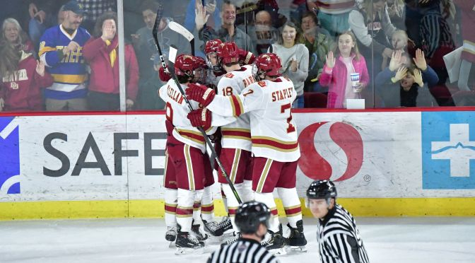 Pioneers overcome UMass-Amherst & officials to sweep Minutemen