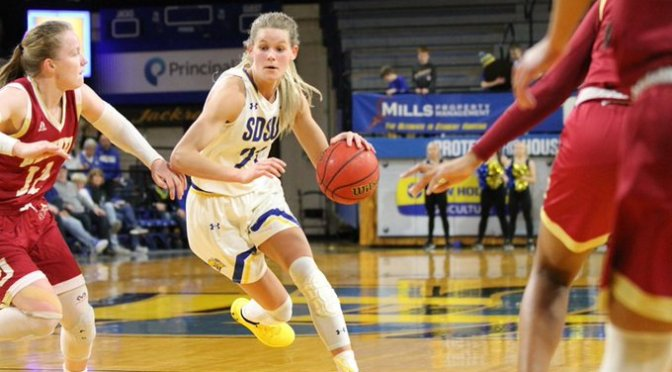 Denver Women's Hoops Stuns South Dakota State, 72-62