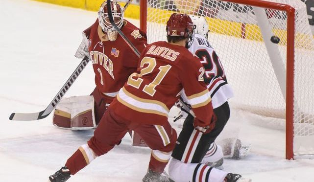 St. Cloud State slips by Denver, 5-1